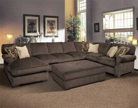 sectional sofa with oversized ottoman 10 collection of sectionals with oversized ottoman sofa