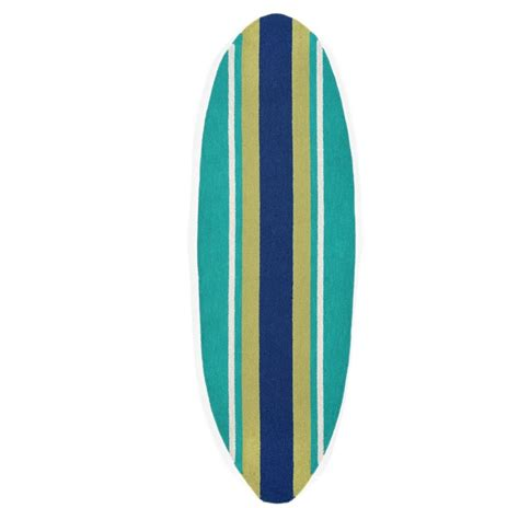 Surf Board Rug by Indoor Outdoor Surfboard Rug Runner Salty Home