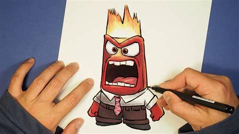 imagenes de intensamente kawaii como dibujar furia de intensamente paso a paso how to