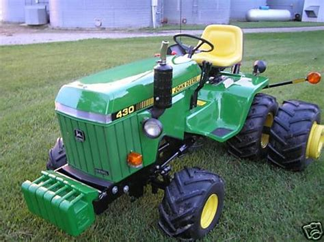 Diesel Garden Tractor by Deere 430 Diesel Garden Tractor Big Boy Toys Don