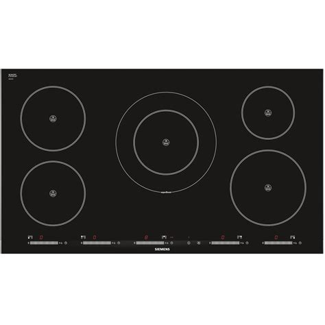induction hob technology siemens eh975sk11e ceramic induction hob black shopping s fashion s fashion