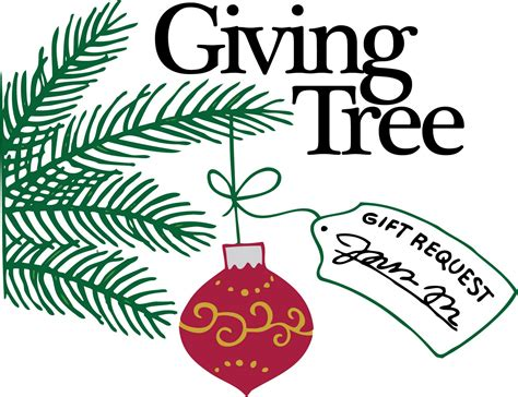 advent giving tree guardian angels