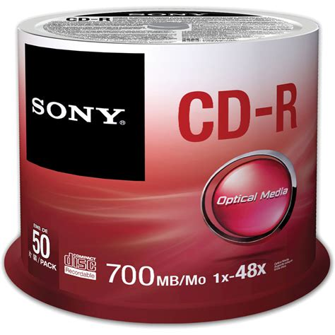 Sale Cd R Sony Cd R Sony Spindle 50pcs Original Free Bag Tom Jerry sony cd r 700 mb recordable discs 50cdq80sp us b h photo