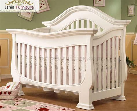 Ranjang Melahirkan ranjang bayi modern putih indonesia furniture teak