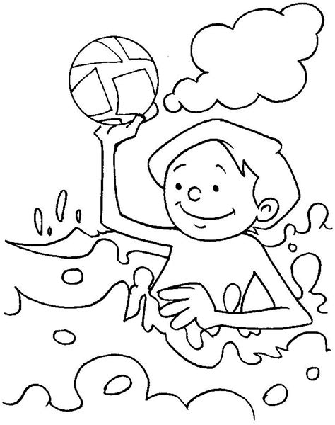 water play coloring page water safety coloring pages az coloring pages