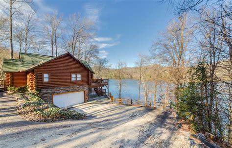 Nantahala Lake Cabins by Lake Nantahala Luxury Log Home In Gated Vrbo