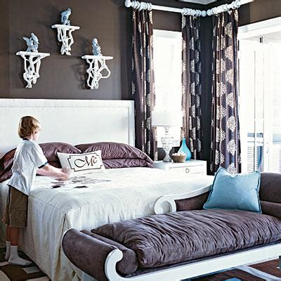 brown colour schemes for bedrooms bedroom