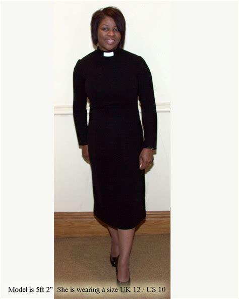 clergy dresses three quarter length clergy dress