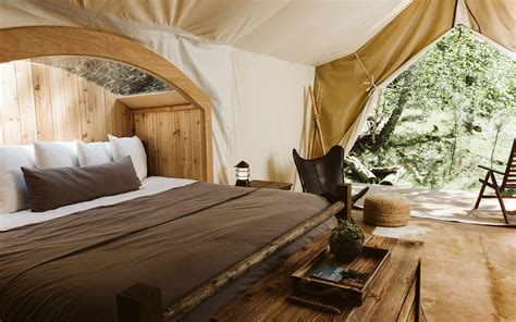 glamping retreat      stay  mount