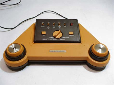 console pong intersoll electronics pong console pal pong and clones