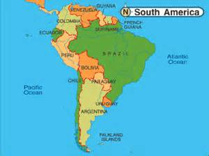 south america world map news from and scotland