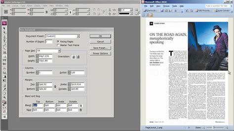 indesign creating guides intro to indesign cs3 1 3 creating a document and
