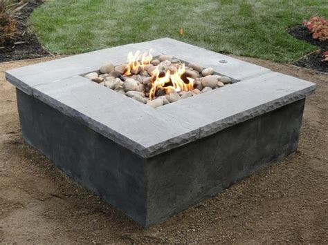 build your own gas pit pit ideas