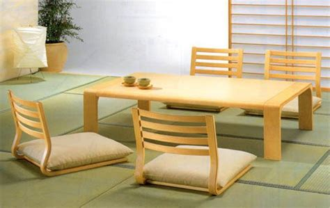 Japanese Style Floor Dining Table by Japanese Dining Room Furniture For A Minimalist Japanese