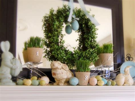 spring decorating decorate your mantel year round hgtv