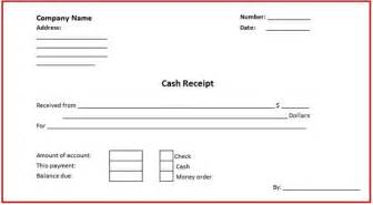 Cash Receipt Template Word Doc Cash Receipt Template Microsoft Word Templates