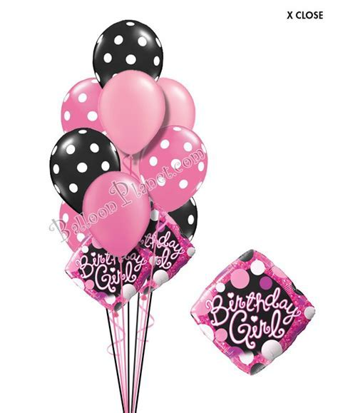 Sweet Sixteen Birthday Balloon Bouquet (16 Balloons