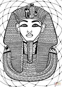 coloring pages of egyptian pharaohs pharaoh coloring page free printable coloring pages
