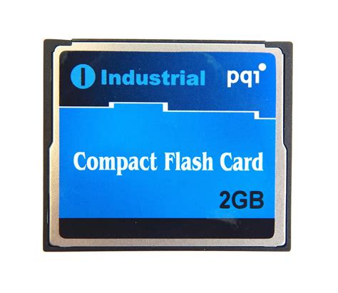 Range Memory Card 2gb Pqi Industrial Temperature Range Compactflash Card