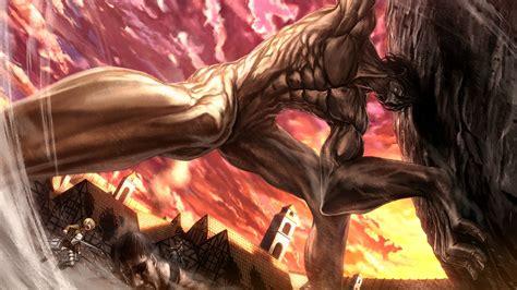 attach on titan attack on titan rogue titan 5z wallpaper hd