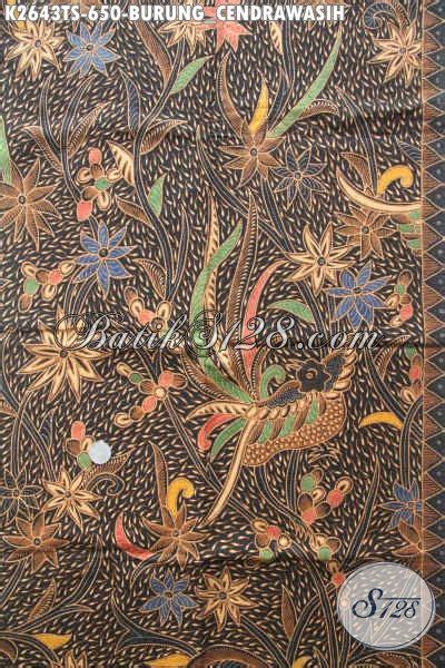 Bahan Batik Halus Motif Sinaran Cendrawasih Toska Batik Pekalongan produk batik kain mewah dan mahal batik halus motif burung cendrawasih proses tulis soga bahan
