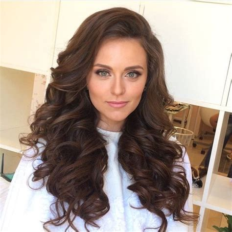 hairstyles down and curled big hair long hair hair down wedding hairstyles curls