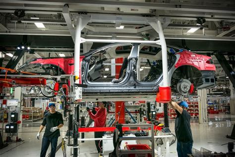 to fremont where tesla will continue to assemble finished vehicles tesla s future hinges on reinventing auto manufacturing