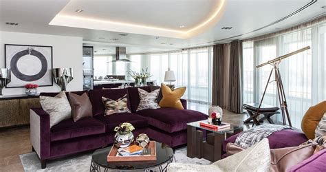 purple sofas living rooms how to match a purple sofa to your living room d 233 cor