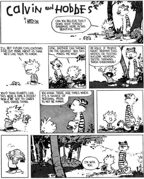Calvin And Hobbes Sick Quotes by Calvin And Hobbes