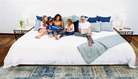 X Large Beds by A 3 6m Wide Bed That Will Fit The Whole Family