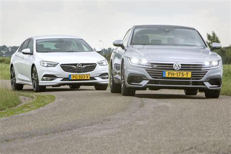 opel volkswagen dubbeltest opel insignia volkswagen arteon autoweek nl