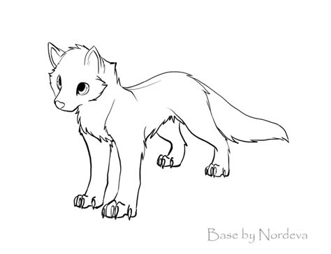 puppy base free wolf puppy base d by nordeva on deviantart