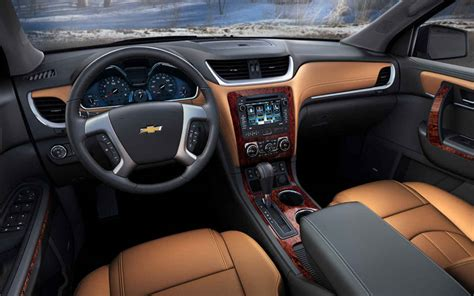 Chevy Traverse Interior Photos by 2018 Chevrolet Traverse Redesign Specs And Release Date