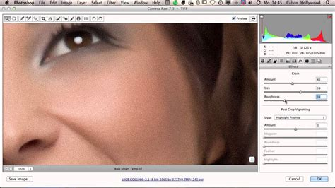 tutorial photoshop raw camera raw skin retouching photoshop tutorial by calvin
