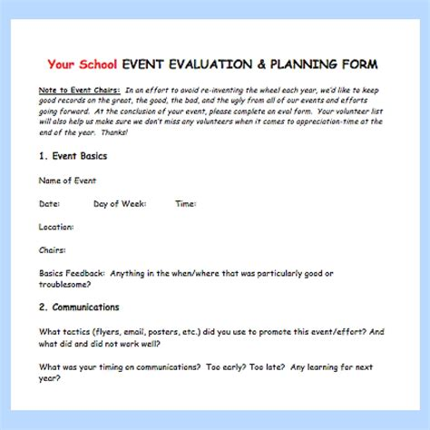 Event Evaluation Letter 17 Ways To Get More Parent Volunteers Pto Today