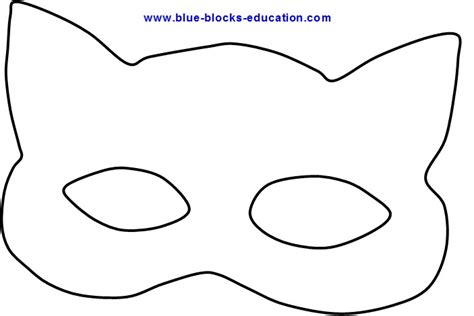 cat eye template 8 best images of cat eye mask printable cat mask