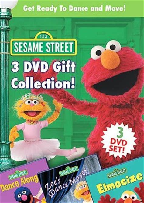 sesame street dance & move box set (3 dvd) (2006