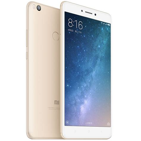 Xiaomi Mi Max 332 Gold 4g mobile phones mi max 2 dual sim 64gb lte 4g gold 4gb ram 171013 xiaomi quickmobile