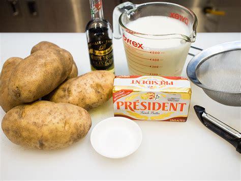 Penghancur Kentang Penghalus Kentang Potato Masher kentang putar trufel lemak berkrim penuh berperisa butterkicap