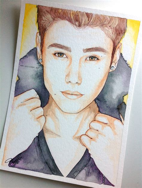 justin bieber painting justin bieber fan painting by antuyetlai on deviantart