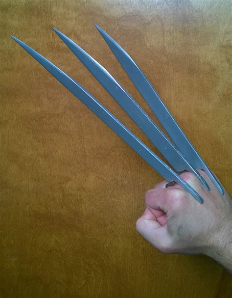How To Make Paper Wolverine Claws - diy wolverine claws