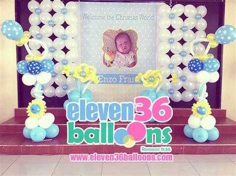 Christening Stage Decoration by Enzo S Baptism 12 14 14 Eleven36 Events Cebu