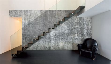 wall trends coarse concrete mural wallpaper