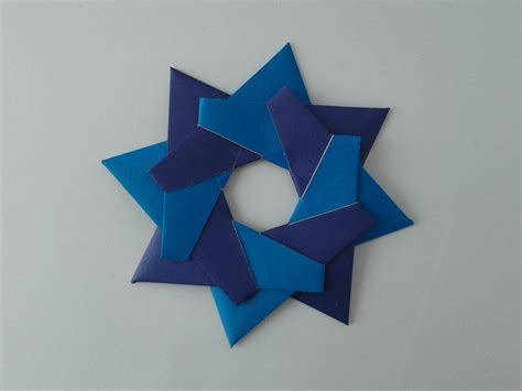 How To Make An Origami Shuriken - how to make an origami