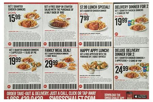 coupons toronto food