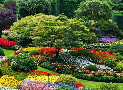Butchard Gardens by Butchart Gardens Park In Thousand Wonders