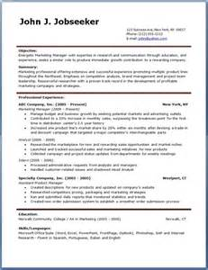 Free Formats For Resumes by Resume Downloads Cv Resume Template Exles
