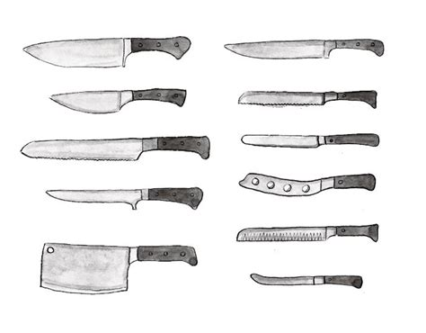types of knives kitchen 99 best images about kitchen knives on