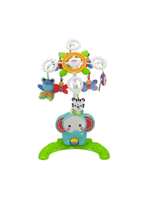 fisher price rainforest crib to floor mobile