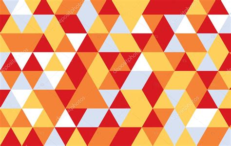 triangle pattern illustrator download colorful triangle abstract background red yellow geometric